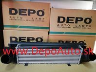 BMW 1 F20 09/2011- chladič vzduchu 125d / OE: 17517600533
