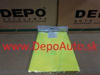 Reflexná vesta- žltá
