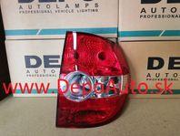 VW FOX 10/2003- zadné svetlo Pravé / DEPO