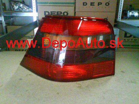 VW Golf IV 97-03 zadné svetlo Lavé,dymové / TYC /