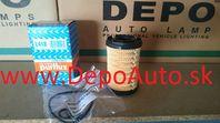 VW JETTA 4/2010- olejový filter 1.6TDi / PURFLUX