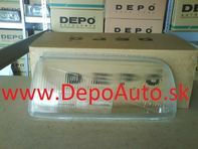 VW VENTO 9/91-9/97 sklo svetla Lavé