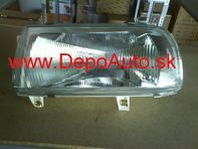 VW VENTO 9/91-9/97 svetlo H4 Lavé