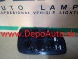 VW Golf IV 97-03 sklo zrkadla Lavé,velké chromové,vyhrievané