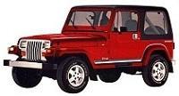 Jeep WRANGLER  87-1997