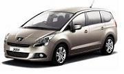 Peugeot 5008  9/09-
