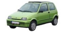 Fiat CINQUECENTO 7/91-1/98