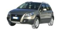 Fiat SEDICI 3 3/2006-