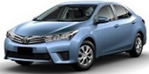 Toyota COROLLA SEDAN 2013-