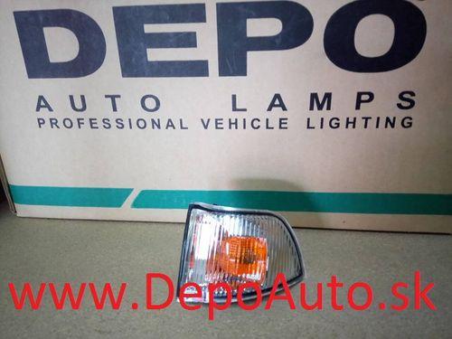 Iveco DAILY, Turbo DAILY 5/2006- smerovka v zrkadle Lavá biela / čierny rámik