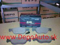 Alfa 145, 146 6/94-00 predné platničky Sada / SRL /