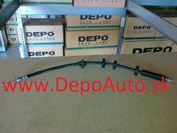 Alfa 147 00-04 brzdová hadička predná obojstranná /396mm/ CORTECO