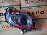 Alfa MiTo 9/2008- svetlo H7+H7 Lavé / TYC / čierne