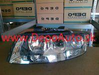 Audi A4 10/00-9/04 svetlo H7+H7 Lavé / DJ AUTO /
