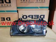 BMW 3 E36 10/90-12/94 svetlo H1+H1 Pravé / DJ AUTO /