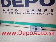 BMW 3 E46 9/01-3/05 kryt osvetlenia ŠPZ / Sedan
