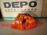 BMW 3 E46 98-8/01 smerovka oranžová Lavá
