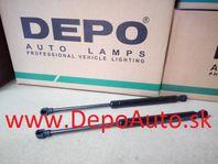 BMW 3 E46 98-8/01 tlmiče zadného kufra 350mm Sada,SDN