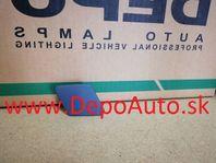 BMW 3 E90 1/05- záslepka ostrekovača svetla Pravá