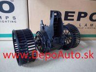 BMW 5 E60 8/03- ventilátor kúrenia/ pre všetky typy /