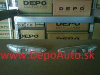 BMW X3 E83 1/04-10/06 bočné smerovky biele matné Sada L+P