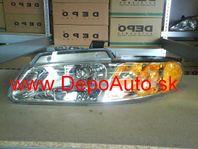 Chrysler VOYAGER 1/96-3/01 predné svetlo Lavé,USA verzia