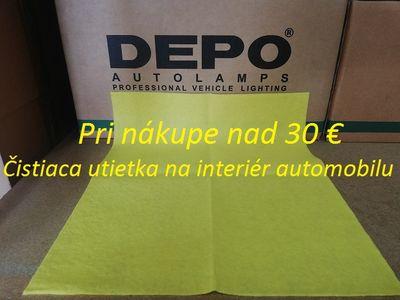 Čistiaca utierka na interiér automobilu / 38 x 38 cm / žltá