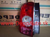 Dacia DUSTER 2010- zadné svetlo Lavé