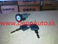 Daewoo MATIZ 7/98-12/00 spínacia skrinka + 2 x klúč s imobilizér