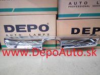 Honda CRV 1/07- lišta masky / chromová /
