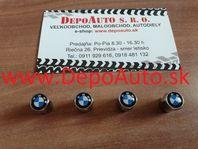 Kryty ventiliek / chrómové BMW / 4 ks / Dodanie do 24h