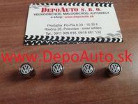 Kryty ventiliek / chrómové VW / 4 ks