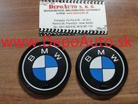 Logo BMW / podnos do priehradky pohárikov/66mm- 2 ks