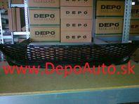 Mazda 3 10/03-6/09 predná mriežka nárazníku Stred,SDN