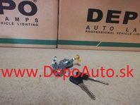 Mazda 323 SED 10/96-10/98 súprava zámkou + 2x klúč / do r.v.97