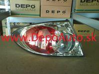 Mazda 6 6/2002-12/2005 zadné svetlo Lavé,blatníkové HB,SDN