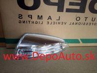 Mercedes M /W164/ 7/2005- smerovka v zrkadle Lavá / LED /
