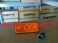 Mercedes Sprinter 00-06 obrysové svetlo / oranžové /