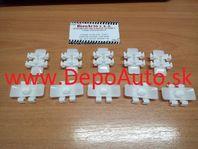Mercedes VITO, 12/95-6/03 príchytky bočných líšt dverí 10 ks