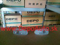 Mercedes Vito 96-03 bočné smerovky biele matné Sada L+P