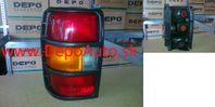 Mitsubishi PAJERO 7/91-9/97 zadné svetlo Lavé