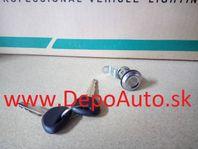 Mitsubishi PAJERO 7/91-9/97 zámok zadného kufra +2x kluč