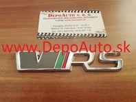 Nálepka pre Škoda VRS 12,5x2,1 cm / kovová