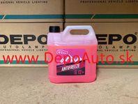 Nemrznúca zmes do chladičov G12 3 litre,červená / Dodanie do 24h