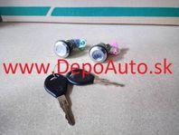 Nissan PATROL 91-8/97 2x zámok dverí + 2 x klúč