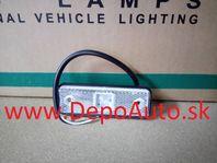 Obrysové svetlo 12/24V, 98x31mm / LED