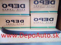 Opel Astra G-spojler nárazníku Pravý
