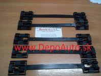 Opel VECTRA B 2/99-4/02 spony prahových líšt 5ks