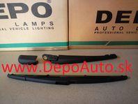 Peugeot 307 4/01-05 zadné ramienko stierača Komplet,HB