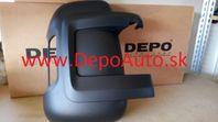 Peugeot Boxer 06- kryt spätného zrkadla Pravý / krátke rameno